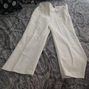Talbots Size 2P white dress slacks